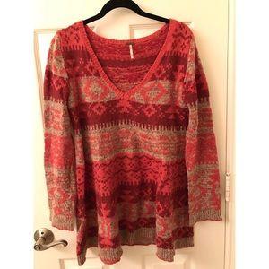 Free people Tribal Sweater